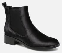onlBRIGHT VELVET PU BOOTIE Stiefeletten & Boots in schwarz