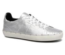 Michell Metal Sneaker in silber