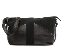 Felisha Leather L Crossbody Handtasche in schwarz