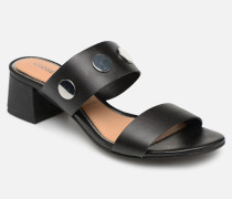49040 Clogs & Pantoletten in schwarz