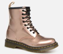 1460 VEGAN W Stiefeletten & Boots in rosa