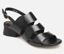 BW0407P Sandalen in schwarz