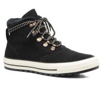 Chuck Taylor All Star Ember Boot Suede + Fur Hi Stiefeletten & Boots in schwarz