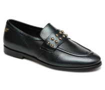 ROUND STUD LOAFER Slipper in schwarz