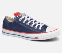Chuck Taylor All Star Sucker for Love Ox Sneaker in blau