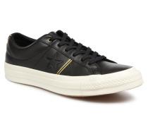 One Star Piping Pack Ox W Sneaker in schwarz