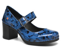 Cannes 557 Pumps in blau