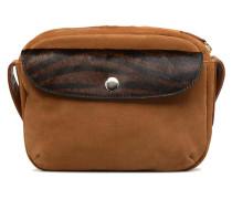 PETITE BESACE BIMATIERE Handtasche in braun