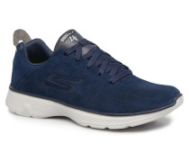 Go Walk 4Acclaim Sneaker in blau