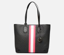 EVA LG TOTE Handtasche in schwarz