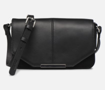 Uma Leather shoulderbag Handtasche in schwarz
