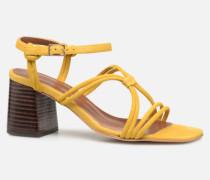 UrbAfrican Sandales à Talons #3 Sandalen in gelb