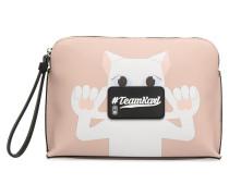 KinBandoulière Portemonnaies & Clutches für Taschen in rosa