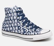 Chuck Taylor All Star Wordmark 2.0 Hi W Sneaker in blau