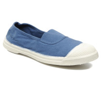 Tennis Elastique Ballerinas in blau