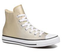 Chuck Taylor All Star Ombre Metallic Hi Sneaker in goldinbronze