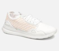 R Flow W Woven Sneaker in weiß