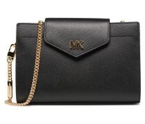 MD Convertible Crossbody Clutch Handtasche in schwarz