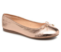 Lenova Soft Ballerinas in goldinbronze