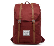 Retreat Rucksäcke für Taschen in rot