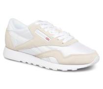 Classic Nylon W Sneaker in beige