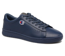 Low Cut Shoe 919 LOW PATCH LEATHER Sneaker in blau
