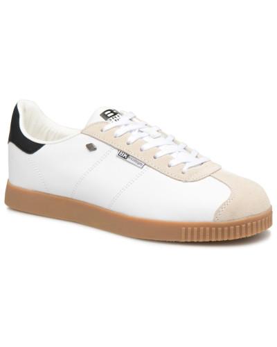 Point Sneaker in weiß