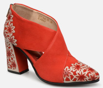 EDCIKAO 05 Stiefeletten & Boots in rot