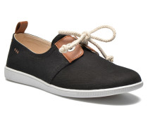 Stone One Twill W Sneaker in schwarz