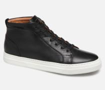 Spark Mid Shine Sneaker in schwarz