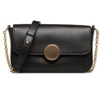 Crossbody Moon Rigide Handtasche in schwarz