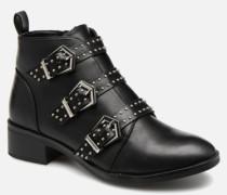 OnlBRIGHT PU BOOTIE Stiefeletten & Boots in schwarz
