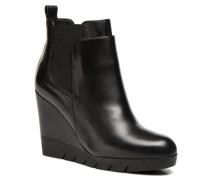 Vitello Stiefeletten & Boots in schwarz