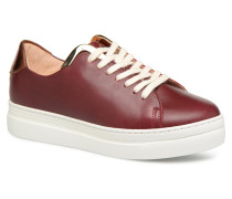 Past Gold Sneaker in rot