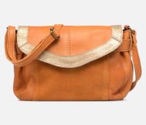 ISAURA LEATHER SMALL CROSSBODY Handtasche in braun