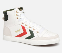 Stadil Limited High Leather Sneaker in weiß