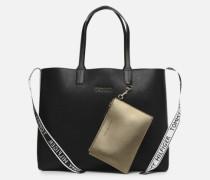 ICONIC TOMMY TOTE Handtasche in schwarz
