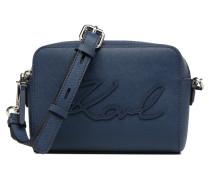K Signature Essential Camera Bag Handtasche in blau
