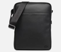 GAEL M FLAT CROSSOVER BAG Herrentasche in schwarz