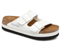 Arizona Cuir Soft Footbed Clogs & Pantoletten in weiß