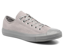 Chuck Taylor All Star Mono Plush Suede Ox Sneaker in grau