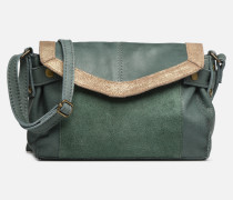 ISAURA LEATHER SMALL CROSSBODY Handtasche in grün