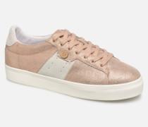 Tennis Hosta Leather Suede W Sneaker in goldinbronze