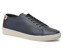 Aspenlow Leather Sneaker in blau