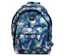 DOUBLE DOME FLORA Rucksäcke für Taschen in blau