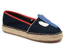 PATCH ESPADRILLE CORPORATE Espadrilles in blau