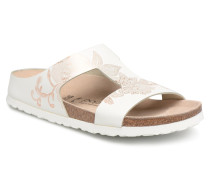 Charlize Cuir W Clogs & Pantoletten in weiß