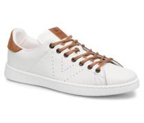 Deportivo Pu Contraste Sneaker in weiß