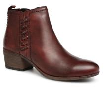 TAERA Stiefeletten & Boots in weinrot