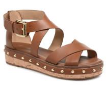 Darby Sandal Sandalen in braun